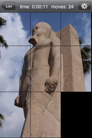 Screenshot aQ's Pro Slider Puzzle: Egypt