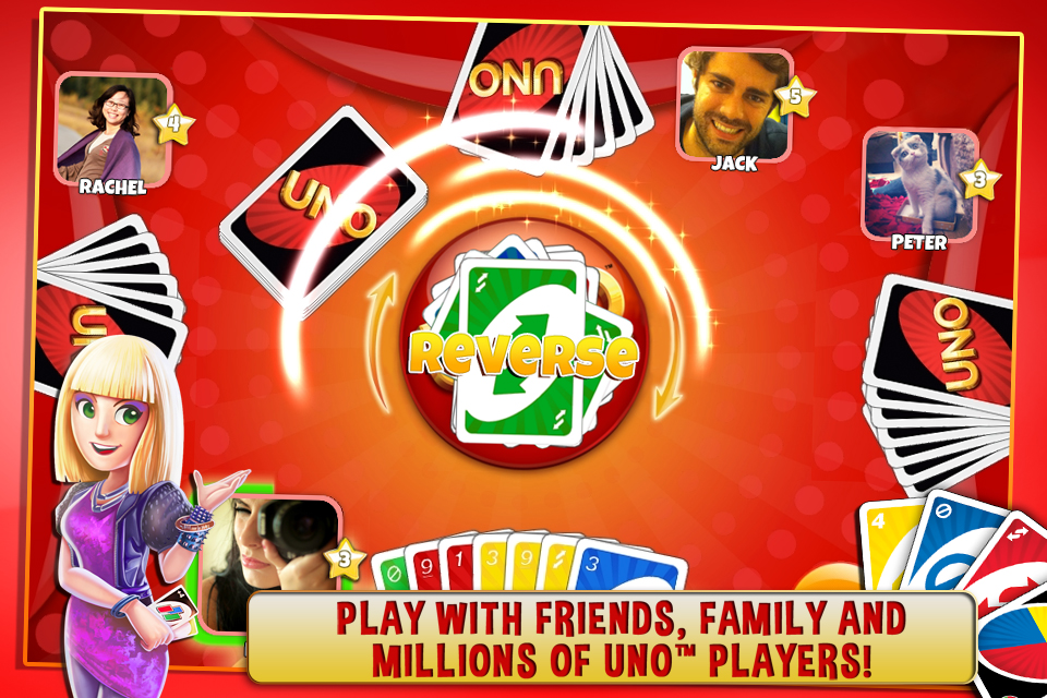 2 player card games uno online